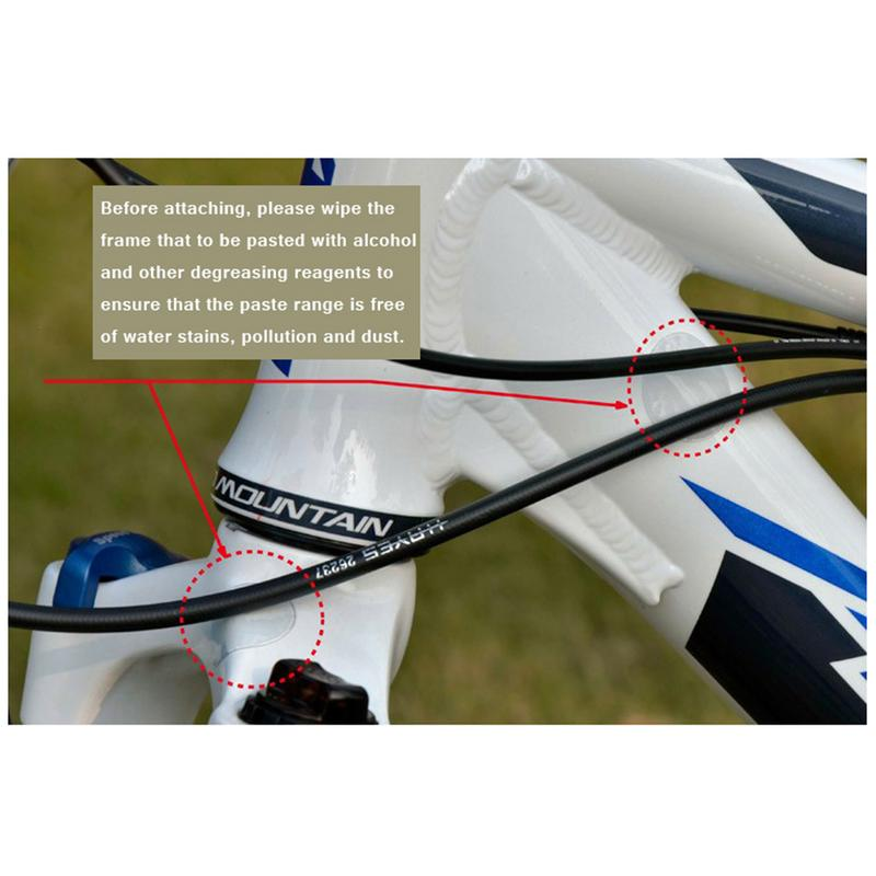 Helicopter Bike Bicycle MTB Anti-scratch  Clear Protection Tape Protective Film^