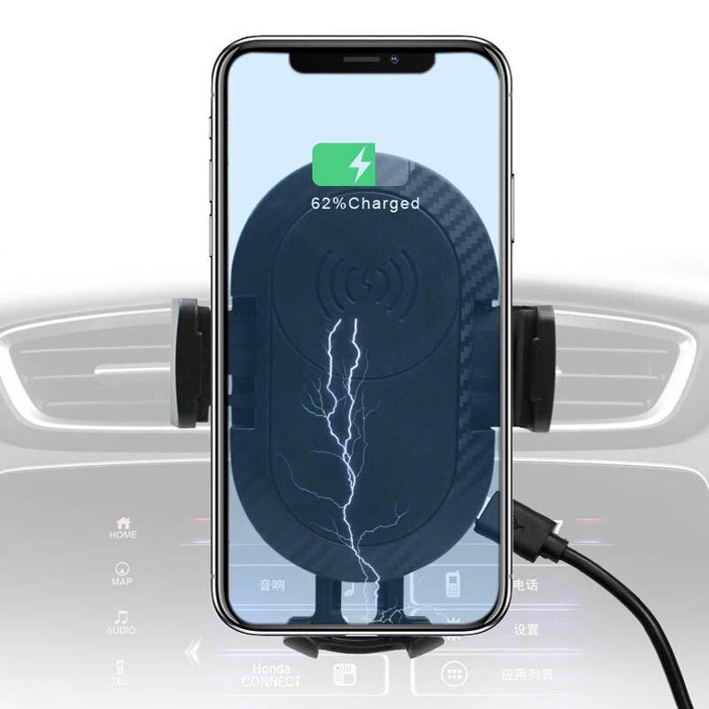 Arvin voiture chargeur sans fil pour iPhone X XS max XR voiture Support pour téléphone Qi charge rapide chargeur sans fil Support smartphone voiture