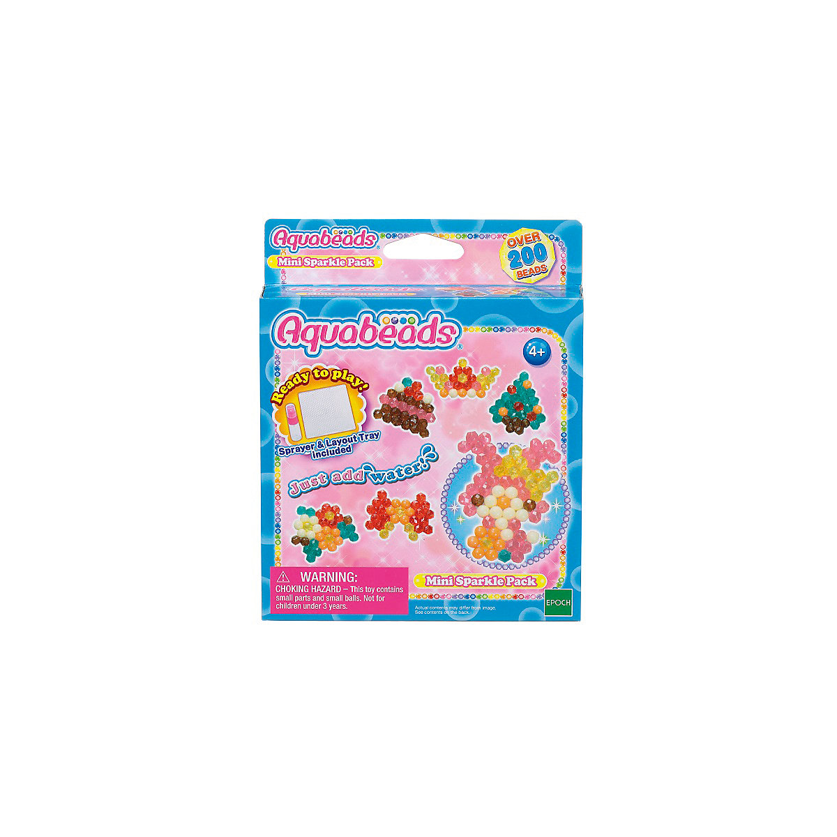 Мини мозаика из бусин Aquabeads Сверкающие игрушки