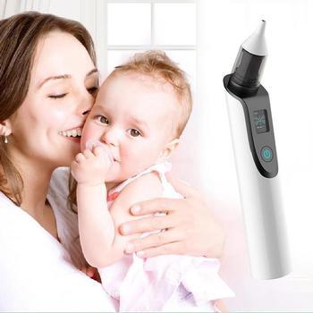 الأنف الشافطة الطفل الكهربائية الأنف الشافطة المولود الجديد منظف الأنف الكبار البثرة مزيل الجمال أداة