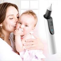 Nasal Aspirator Baby Electric Nasal Aspirator Newborn Baby Nose Cleaner Adult Blackhead Remover Beauty Instrument