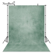NeoBack Vinyl Old Master Misty Green Abstract Wedding Backgrounds Professional Portrait Photographic Background Studio Backdrop