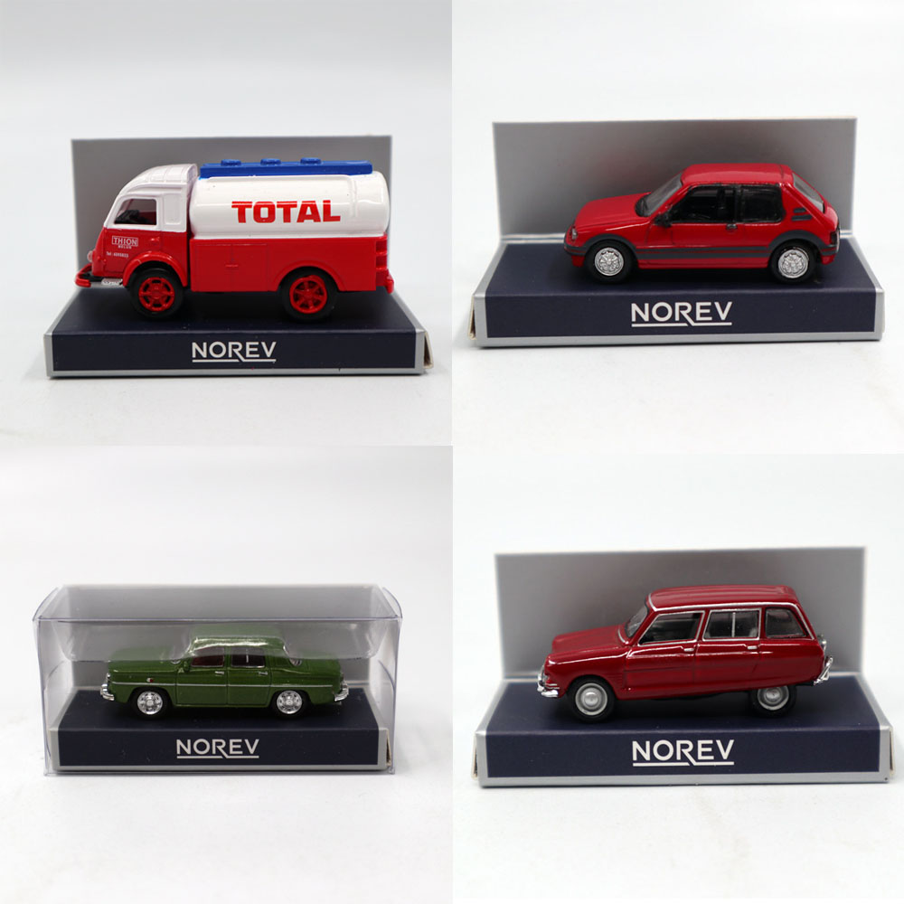 1/87 HO Scale Norev PEUGEOT/Simca/Citroen/Renault Galion/FACEL Vega III Models Toys Diecast Car Christmas Gifts