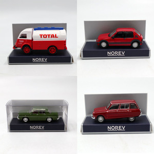 1/87 HO Scale Norev PEUGEOT/Simca/Citroen/Renault Galion/FACEL Vega III Models Toys Diecast Car Christmas Gifts(China)