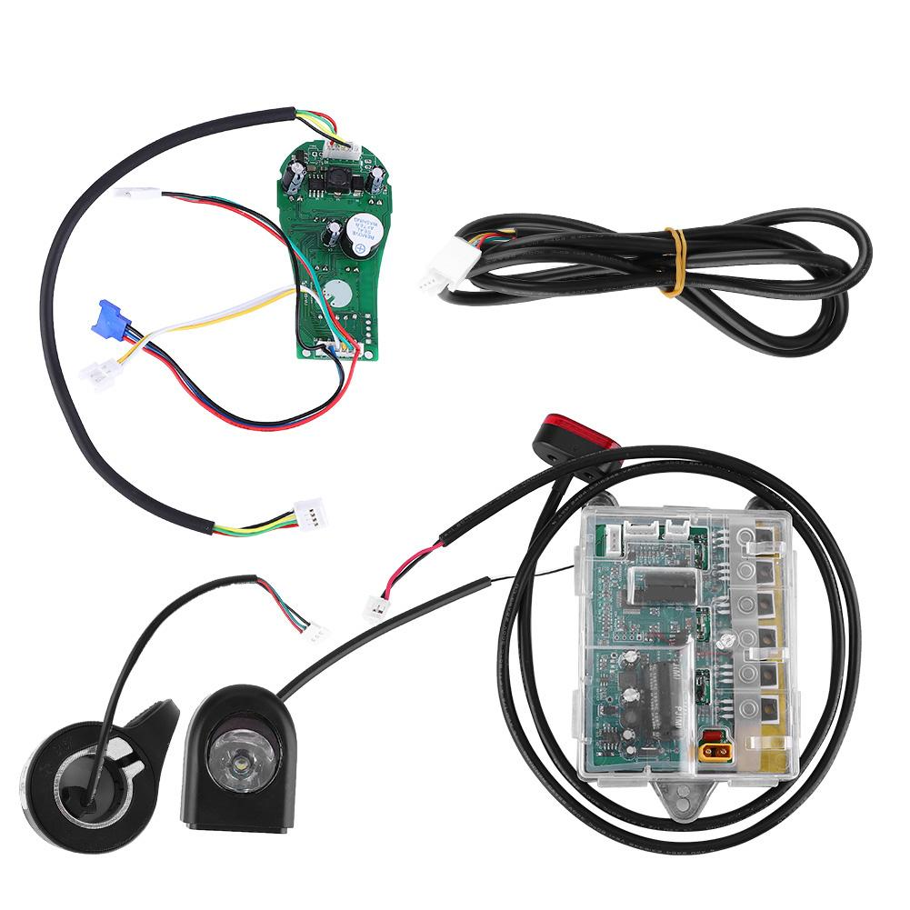 1 Set 36v Electric Scooter Motherboard 1:1 Scooter With Headlight Taillight Accelerator Substitute Kit For Xiaomi 1:2 Scooter