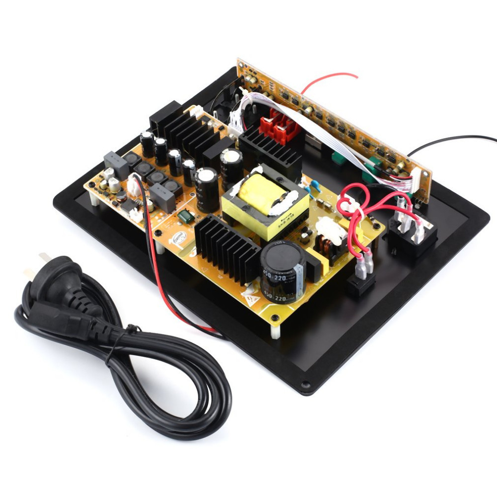 Portable DIY 280W High Power Subwoofer Amplifier Digital HiFi Integrated Board For Speakers new assembly high power 280w 1 0 digital hifi subwoofer amplifier board active amplifier board home amplifier for subwoofer