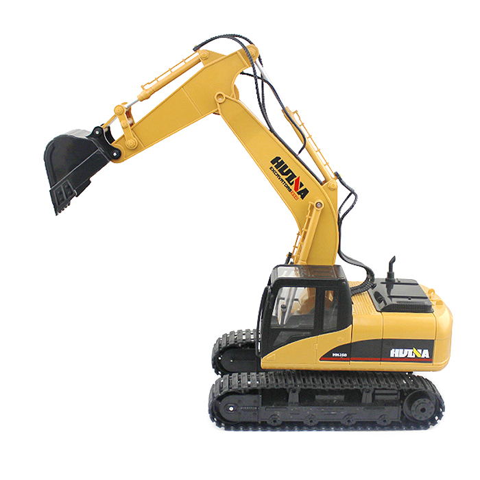 HUINA 1:14 2.4GHz 15CH RC Car Remote Control Alloy Excavator RTR With Independent Arms Programming Auto Demonstration FunctionHUINA 1:14 2.4GHz 15CH RC Car Remote Control Alloy Excavator RTR With Independent Arms Programming Auto Demonstration Function