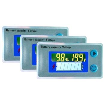 strong Import List strong Uniwersalna pojemność akumulatora woltomierz Tester 10-100 V LCD samochodowy wskaźnik kwasowo-ołowiowy cyfrowy woltomierz napięciomierz Monitor tanie i dobre opinie Inpelanyu CN (pochodzenie) ELECTRICAL NONE Cyfrowy tylko 61 36mm Regular C01640 Electricity Voltmeter Plastic 1 5 inches