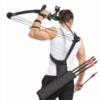 40 LB Powerful Compound Bow Alloy Recurve Arrows Hunting Fishing Set Tools Shooting Fish Reel Accessories Combo Archery Outdoor