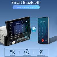 1 DIN Window CE Car Video MP5 Retractable Dvd Player Auto Radio With Retractable GPS NAV BluetoothStereo Screen Radio