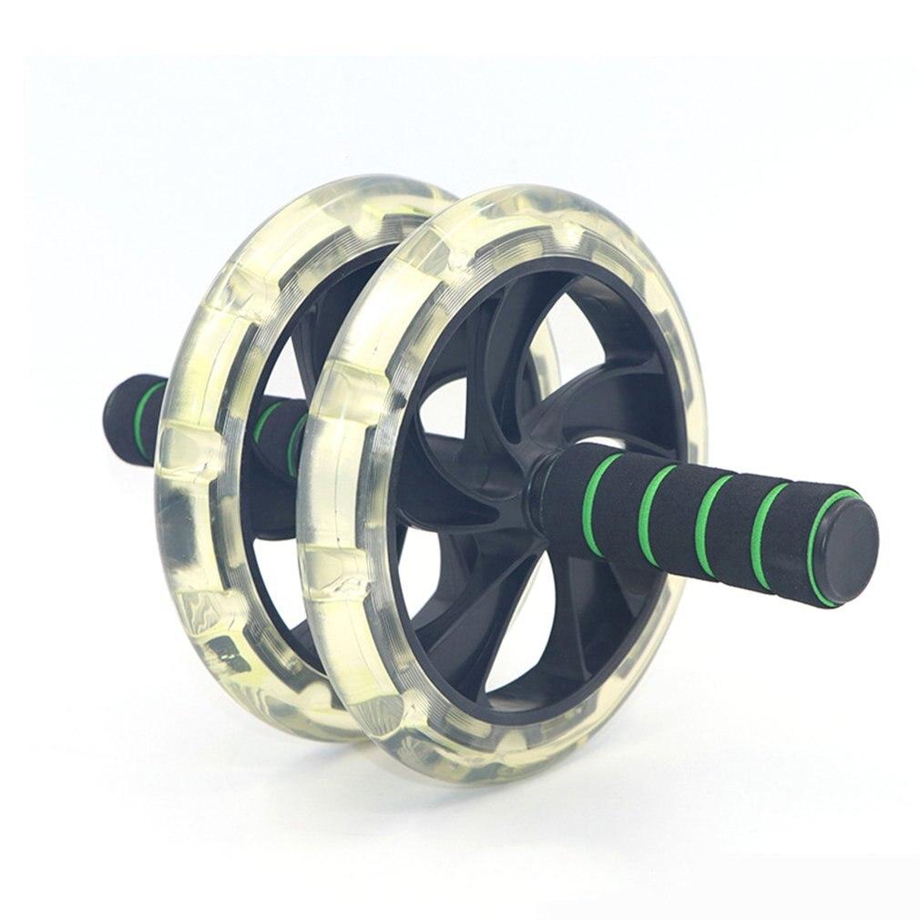 200mm Durable Garder la Forme Roues Abdominale Ab Rouleau Non-slip Pour Exercice équipement de fitness avec Thicked Pad