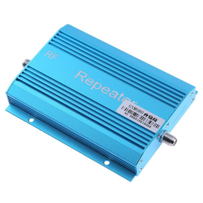 Amplificateur répéteur de Signal de téléphone portable GSM980 900 Mhz + câble de récepteur de suceur 10 m + Mini antenne f-head
