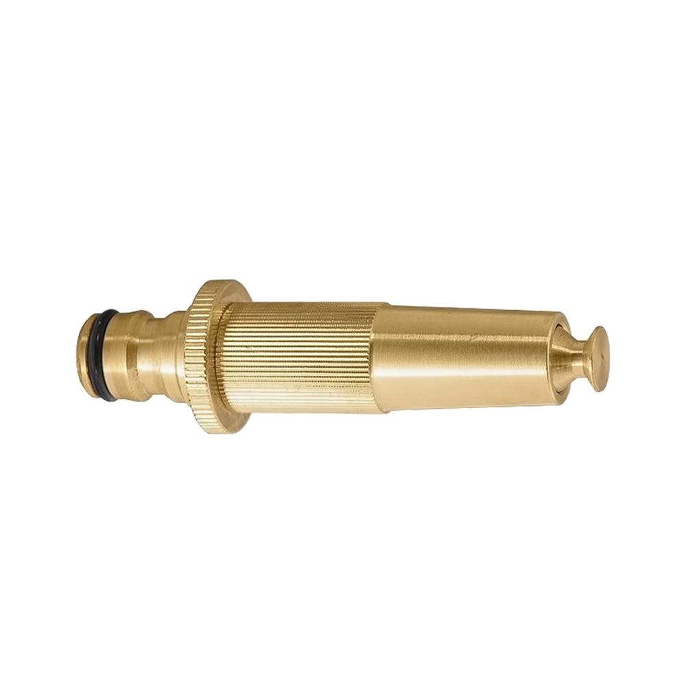 Garden Sprinklers PALISAD 65282 adjustable brass sprayer impact style rain like garden sprinklers black 5 pcs