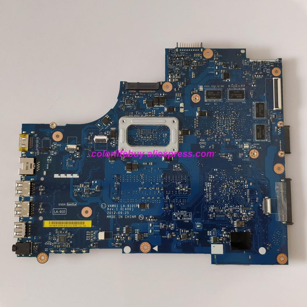 Genuine CN 0P14T7 0P14T7 P14T7 VAW01 LA 9101P HD8730 I5 3337U Laptop Motherboard for Dell Inspiron 15R 3521 5521 Notebook PC in Laptop Motherboard from Computer Office