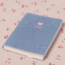 Модный блокнот-планировщик, школьные принадлежности, блестящая записная книжка, дневник, дневник с надписью Love