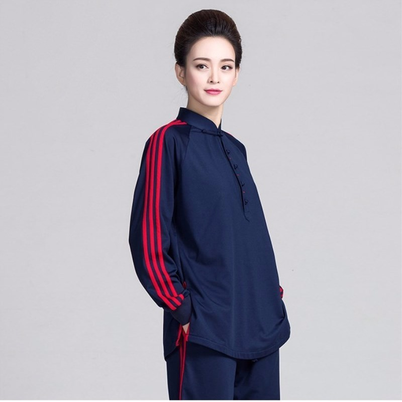 2019 Women s Tai Chi Uniform Wushu Kungfu Suit Men Outdoor Spring Climbing Hiking Trekking Jacket