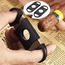 Двойные лезвия нож Карманный сигары ножницы из нержавеющей стали ножницы