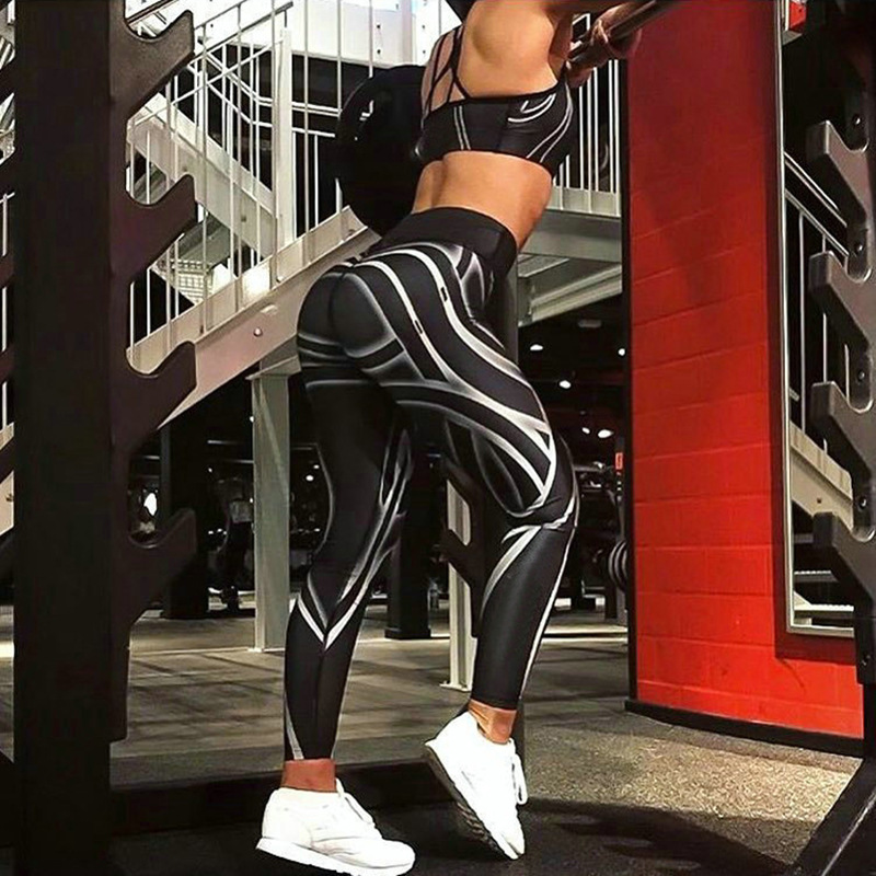 Explosive Money  Digital Printing For Sexy Self-cultivation  For Women With Global Debut Workout Legging S-XL