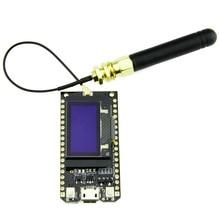 AAAE Top-Bluetooth Wifi ESP-32 Development Board Module Lora32 Lora 868Mhz ESP32 Lora Oled 0.96 Inch Blue Display With Antenna 2pcs 433mhz 868mhz 915mhz sx1276 sx1278 esp32 lora oled bluetooth wifi lora kit 32 development board for arduino