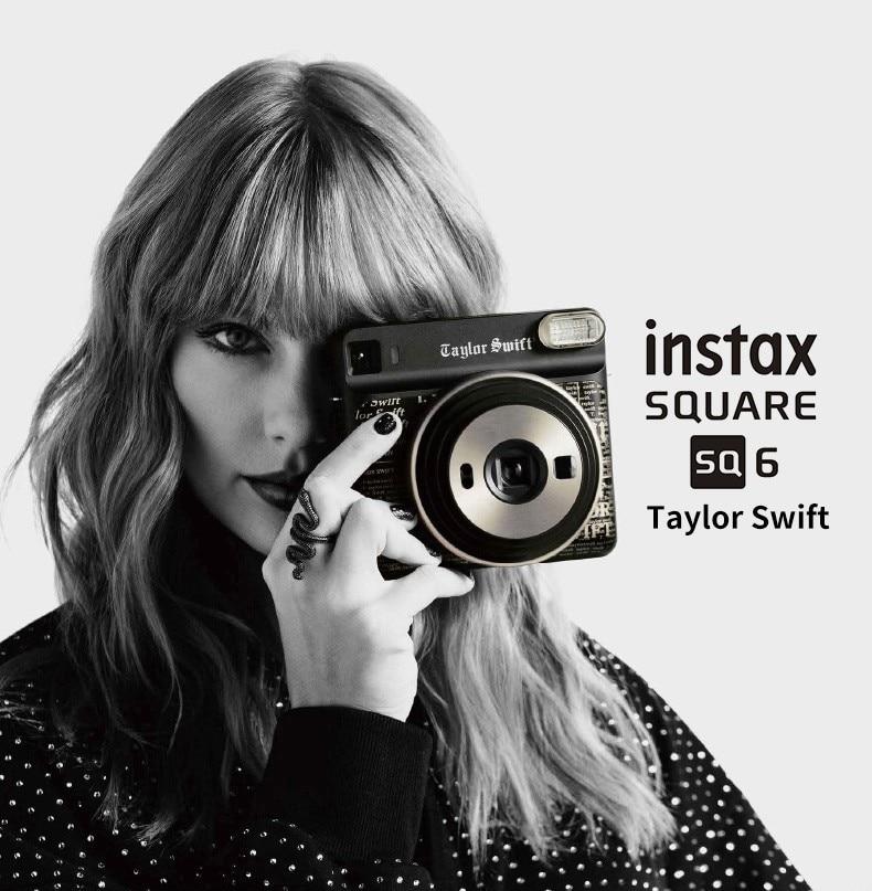 Special Edition Taylor Swift Fujifilm Instax SQUARE SQ6 Instant Film Photo Camera