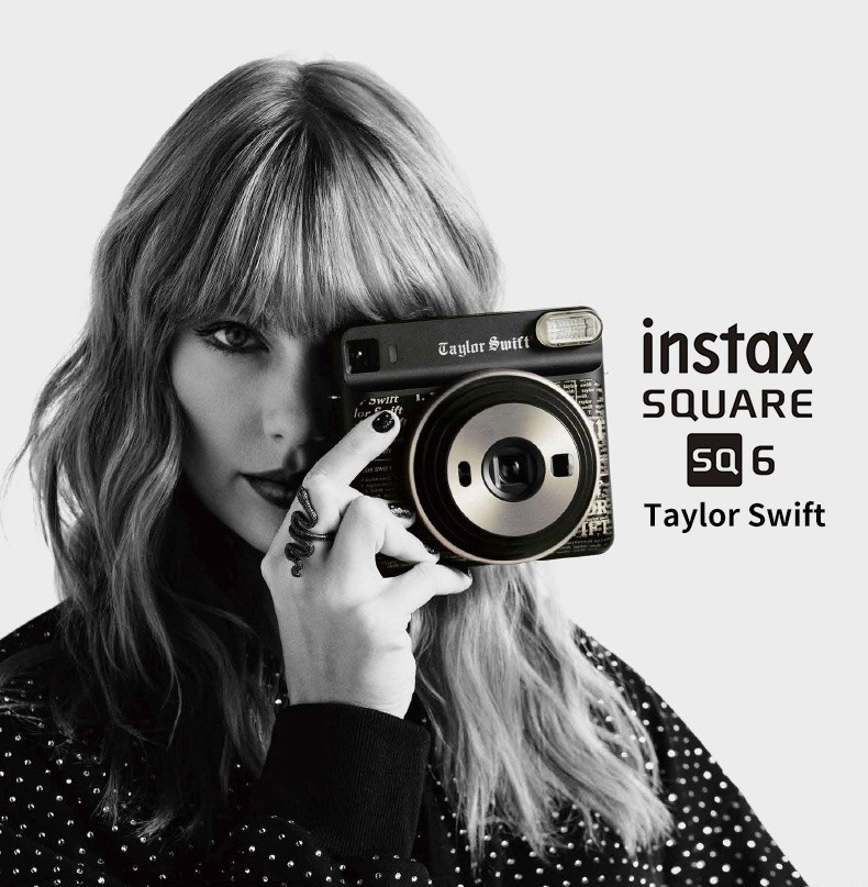 Édition spéciale! Taylor Swift Fujifilm Instax CARRÉ SQ6 Film Instantané Appareil Photo