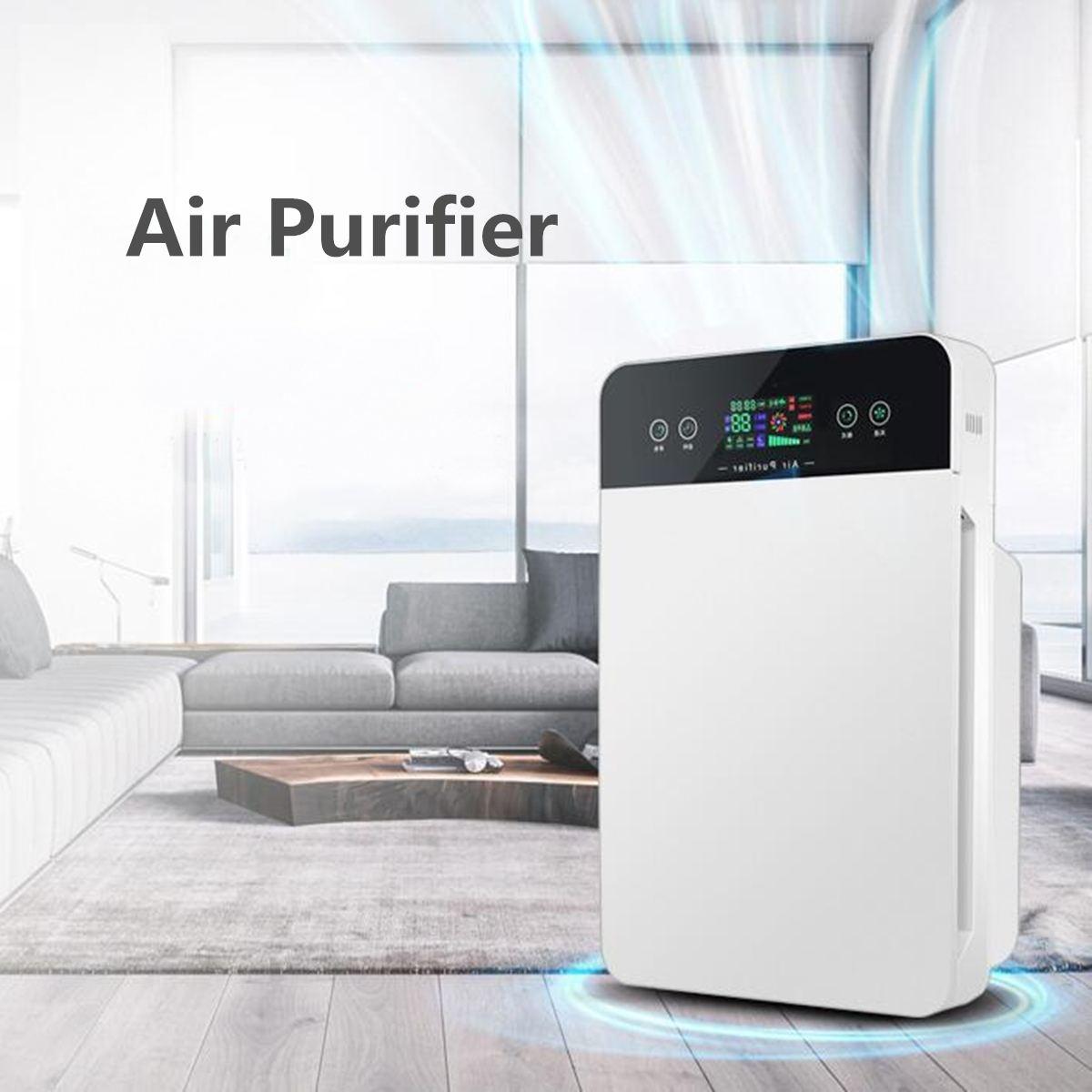 Smart Air Purifier Electric Intelligent Dehumidifiers Purify Smoke Air Dryer Machine Moisture Absorb Home Household Appliances