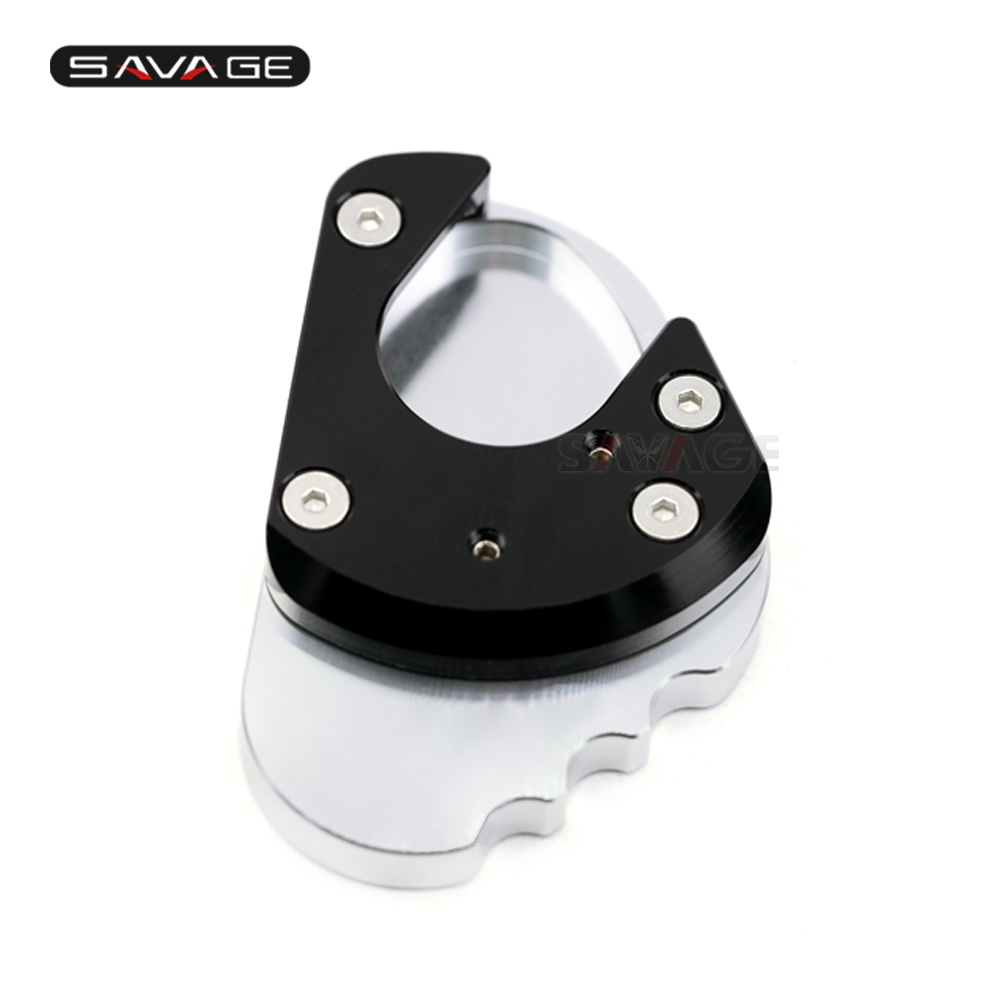 Side Stand Kickstand Extension Plate For Kawasaki Ninja <font><b>400</b></font> <font><b>1000</b></font> Z1000 Sx 2018 2019 Motorcycle Accessories Support Shoe Plate image