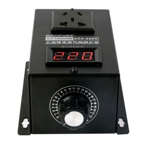 Image 5 - 10000W High power Silicon Electronics Voltage Regulator Machinery Electric Variable speed controller  0V 220V