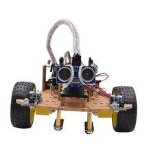 MODIKER беспроводной пульт дистанционного управления умный автомобиль DIY Kit Инфракрасный контроль робот автомобиль DIY Kit для Arduino программируемые игрушки высокого обучения