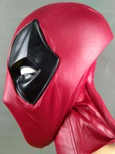 Cosplay Deadpool faceshell for deadpool costume mask with Magnetic Lenses lens Halloween Prop Gift 2019
