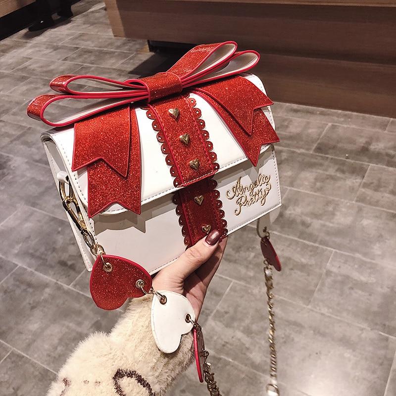 Lolita Bow Box Shoulder Bag