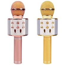 Wireless Karaoke Microphone, Two Pack Portable Bluetooth Karaoke Player With Speaker For Home Ktv Outdoor Party Music Playing цена и фото