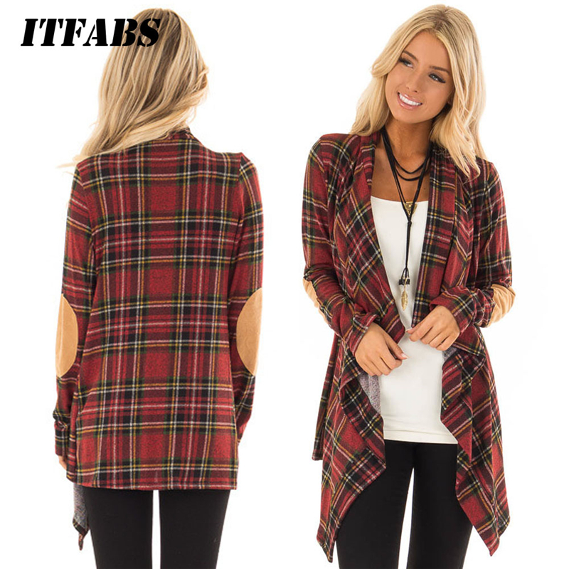 Fashion Autumn Women Plaid Blazers and Jackets Work Office Lady Suit Slim Red Caedigan None Button Business female blazer Coat