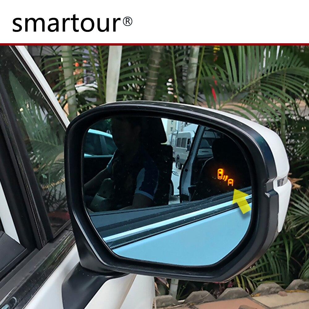 Smartour BSM BSD Microwave Radar Reverse Parking Sensor Blind Spot Blind Zone Monitoring And Line Assist For Toyota Camry Reiz