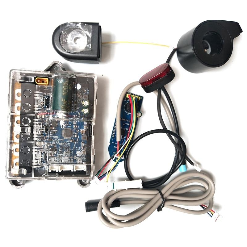 Pour Xiaomi M365 Scooter électrique Circuit imprimé tableau de bord contrôleur phares feux arrière accélérateur planche à roulettes pièces pour Ninebo