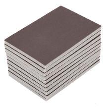 10 шт. квадратная губчатая Песочная бумага 120/180/240 зернистость мелкая полировка шлифовальная бумага абразивные инструменты