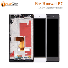 5 For Huawei Ascend P7 P7-L00 P7-L05 P7-L10 LCD With Frame Lcd Display