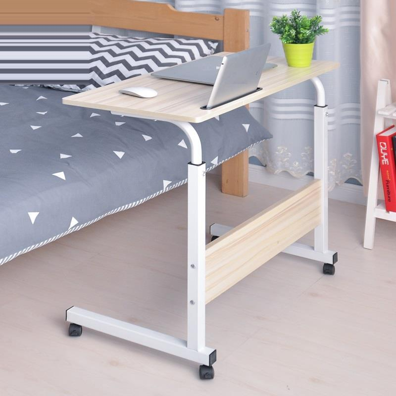 Купить с кэшбэком Escrivaninha Small De Oficina Portatil Pliante Mesa Mueble Bed Escritorio Adjustable Laptop Stand Study Table Computer Desk