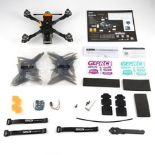 GEPRC ELEGANT 5.8G 230mm Brushless FPV Racing Drone with Frsky R-XSR Receiver 40A BLHeli_s Full 3K Carbon Fiber 600TVL BNF