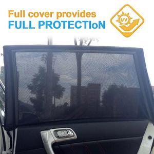 Image 1 - 1 paio finestra laterale auto parasole tenda maglia sole blocco termico SUV speciale zanzariera resistente schermo accessori auto finestra