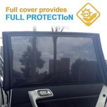 Parasol para ventana lateral de coche, cortina de malla, bloque de calor solar, SUV, pantalla especial resistente a mosquitos, accesorios para ventana de coche, 1 par