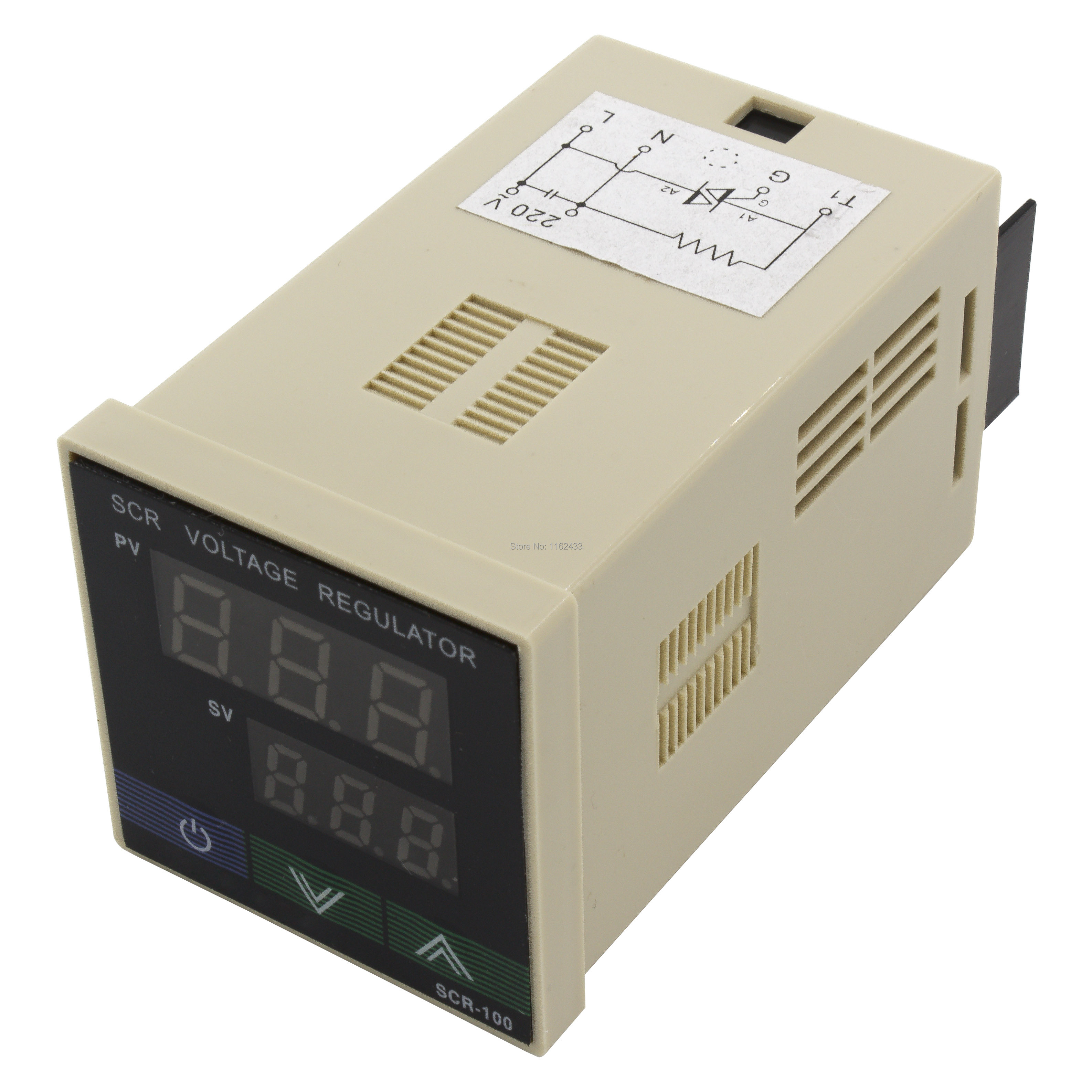 scr 100 regulátor napětí - SCR-100 digital SCR voltage regulator special for blow molding machine