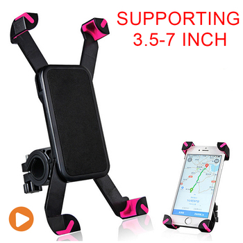 GPS Motorcycle Phone Moun Bicycle Phone Stand Universal Car Phone Clip Holder Support t Support Telephone