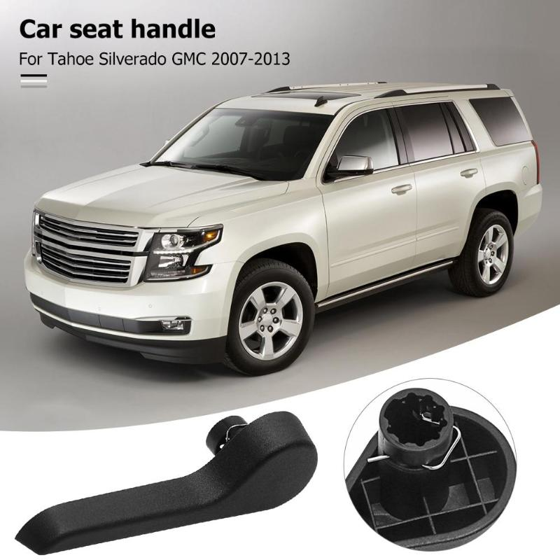 Car Front Left Driver Seat Recliner Handle Lever Left Driver Side Fit For Tahoe Silverado GMC 2007-2013
