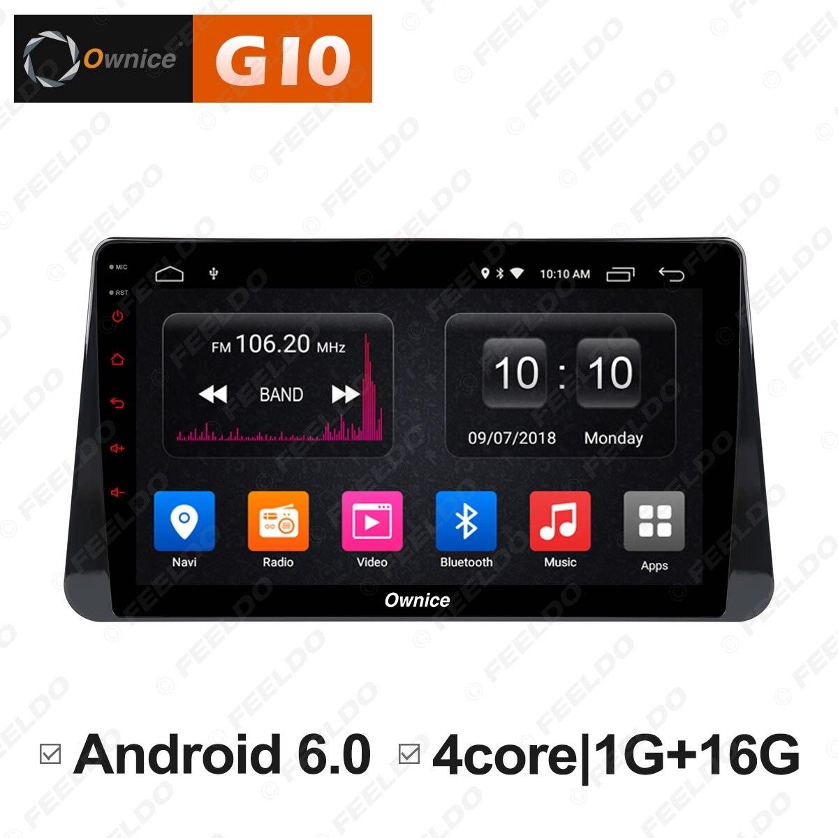 FEELDO 10,1 2.5D Nano ips Экран Android 6,0 Octa Core/DDR3 2G/32G/4G LTE Прокат медиаплеер для пинает 2016 2018
