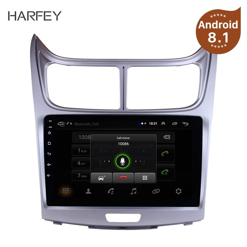 Harfey Android 8.1 9 2Din Multimedia Player For 2010 2011 2012 2013 Sail GPS Car Radio Stereo Support RDS Mirror Link Wifi