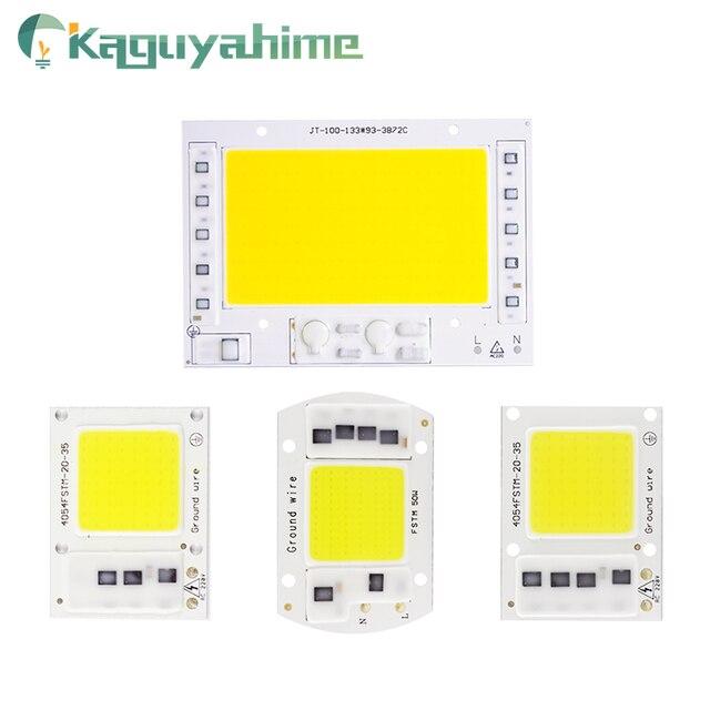 Kaguyahime AC 220V משולב COB LED מנורת שבב 50W 30W 20W 10W 5W חכם IC נהג עבור DIY הארה זרקור מקרן לגדול