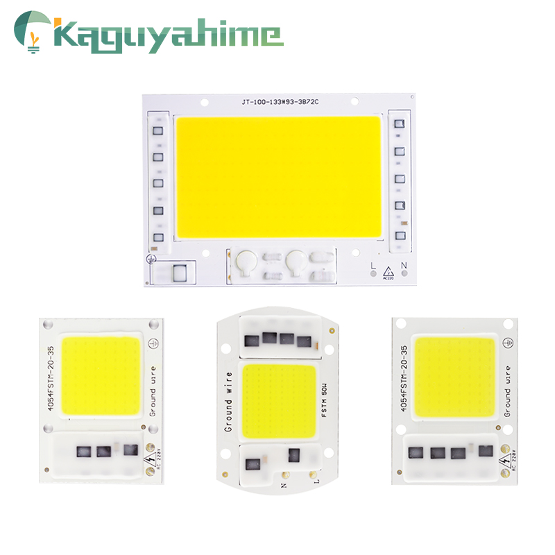 Kaguyahime AC 220V Integrated <font><b>COB</b></font> <font><b>LED</b></font> Lamp <font><b>Chip</b></font> <font><b>50W</b></font> 30W 20W 10W 5W Smart IC Driver For DIY Floodlight Spotlight Projector Grow image