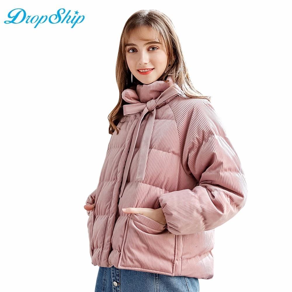 Manteau Chapeau Vers 2018 Outwear Mince Canard Pink Dropship Rose Veste Capuchon Long À Femmes Ultra léger Parka Le Hiver Bas RdxxUqTw