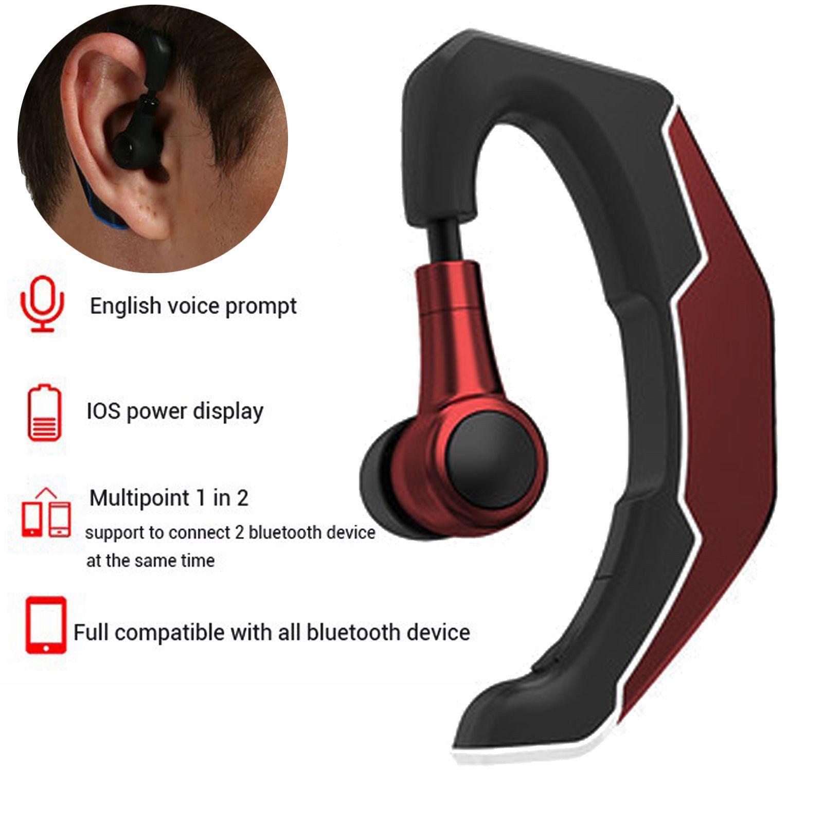 Bluetooth Headphone Headset Wireless Sports Running Earphone Noise Cancelling Handsfree Calling For Car Driving Cell Phones Bluetooth Earphones Headphones Aliexpress
